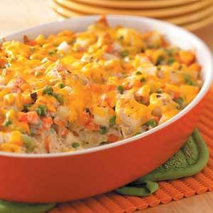 Chicken vegetable casserole photo 1