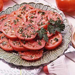 Marinated tomatoes photo 1