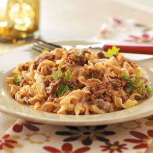 Beef noodle casserole photo 2