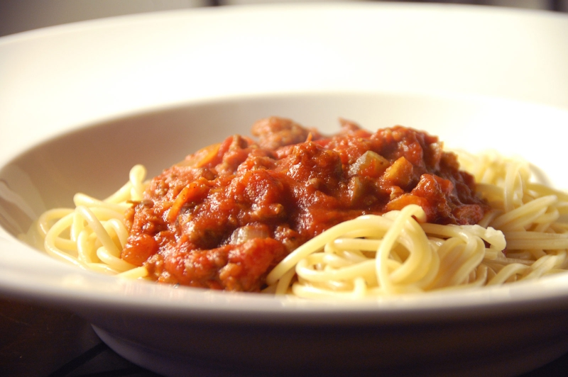 Meat loaves with spaghetti sauce photo 2