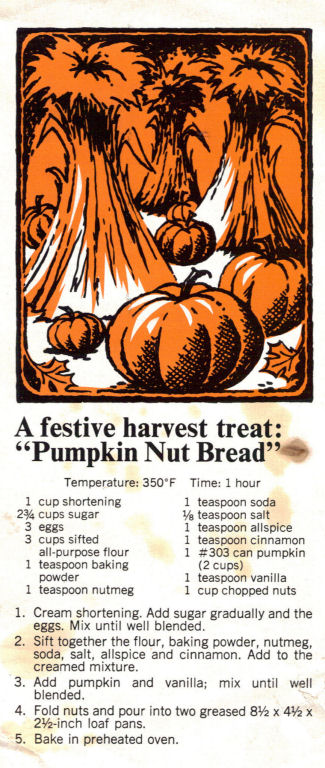 Pumpkin nut bread photo 2