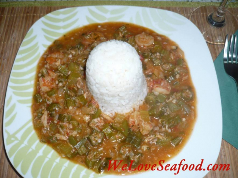 Shrimp gumbo photo 2