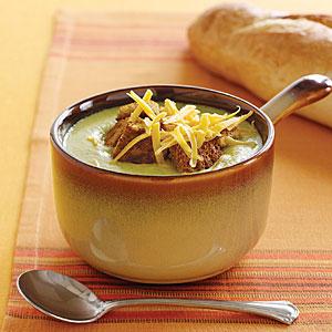 Broccoli-cheese soup photo 1