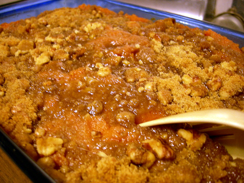 Candied sweet potato casserole photo 1