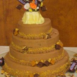Snickers cake photo 2