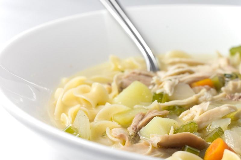Chicken noodle soup photo 1