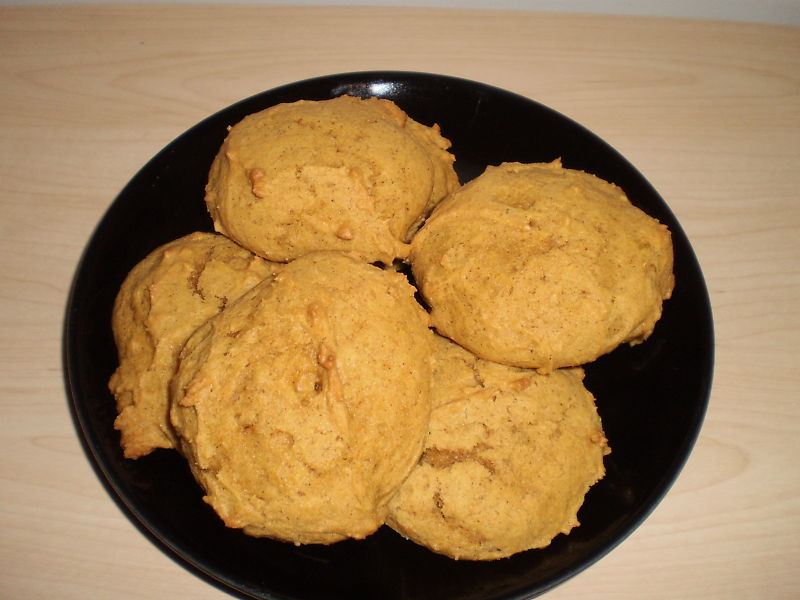 Pumpkin cookies photo 1