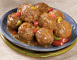 how to make sweet meatballs