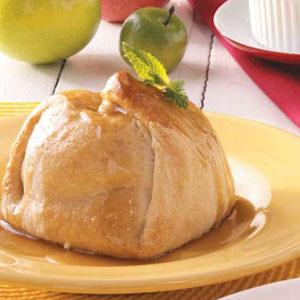 Apple dumplings photo 2