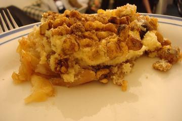 Apple-walnut cobbler photo 1