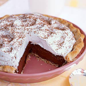 Chocolate silk pie photo 3