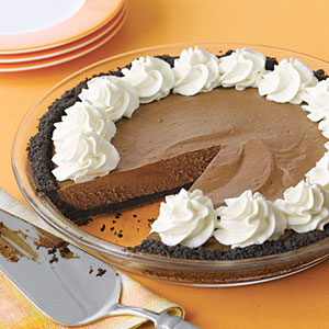 Chocolate silk pie photo 2