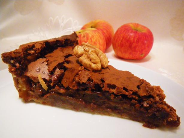 Delicious chocolate pie photo 3