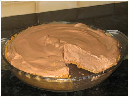 Hershey bar pie photo 2