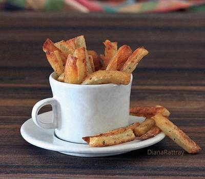 Oven french fries photo 1