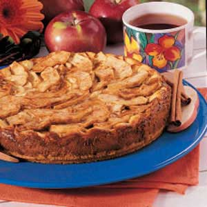 Bavarian apple torte photo 1