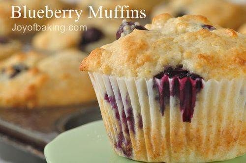 Blueberry muffins photo 1