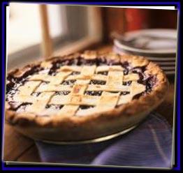 Blueberry pie photo 1