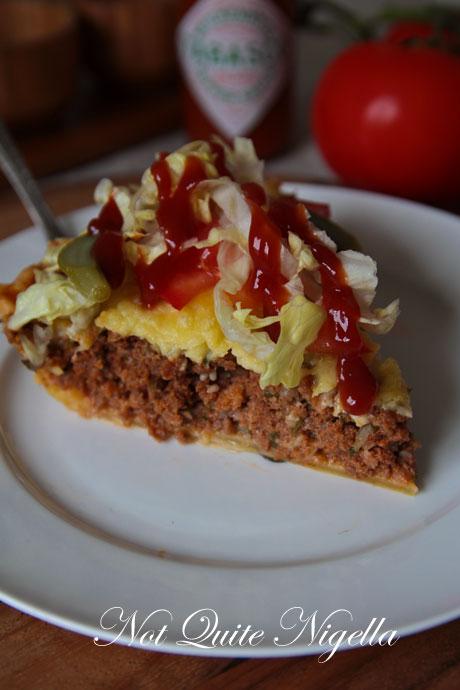 Cheeseburger pie photo 1