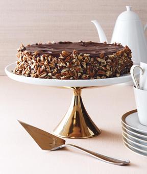 Chocolate flourless cake photo 1
