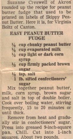 Easy peanut butter fudge photo 1