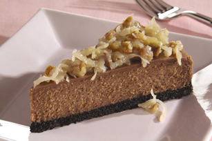 German chocolate cheesecake photo 3