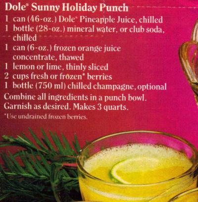 Holiday punch photo 1