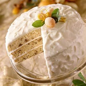 Italian cream cake photo 1
