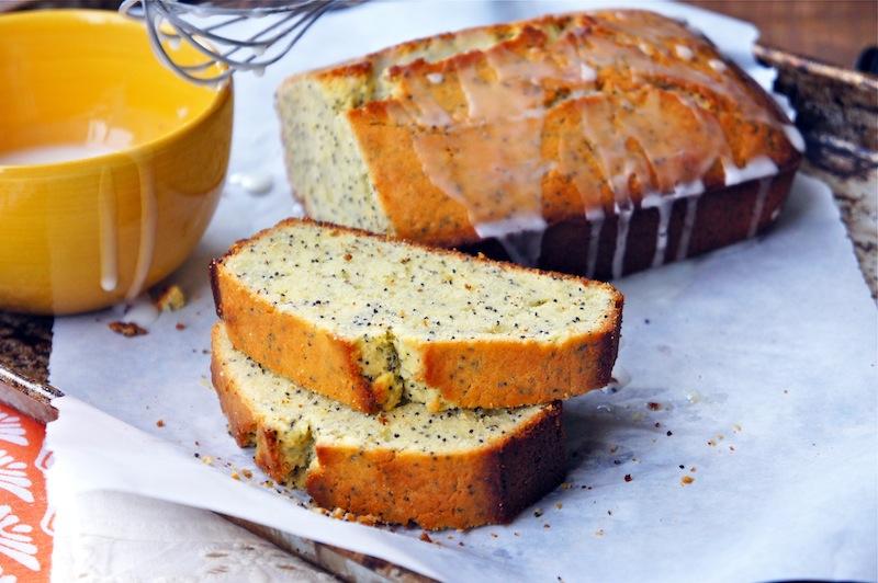 Lemon poppy seed pound cake photo 2