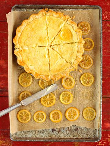 Lemon sponge pie photo 2