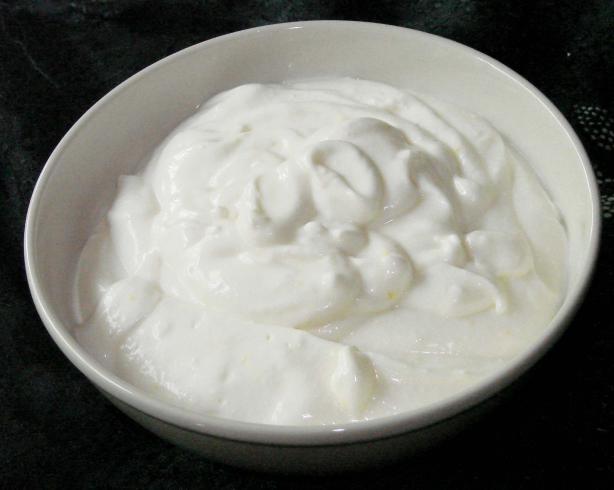 Mock sour cream photo 1