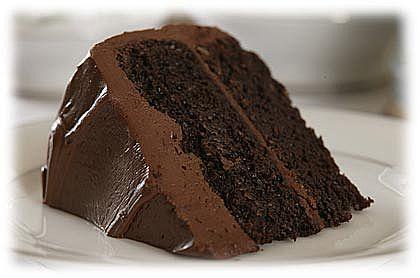 Moist chocolate cake photo 1