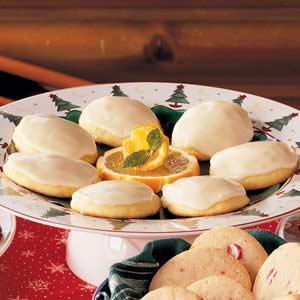Orange cookies photo 1