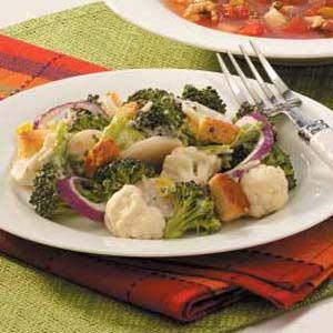 Parmesan vegetable toss photo 1