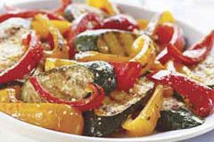 Parmesan vegetable toss photo 3