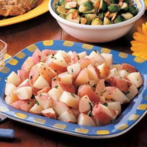 Parsley potatoes photo 3