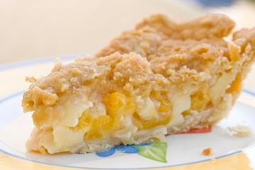 Peaches and cream pie photo 2