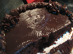 Perfect chocolate cake photo 2