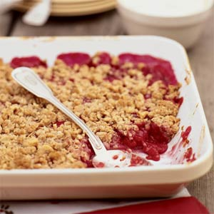 Rhubarb crisp photo 2