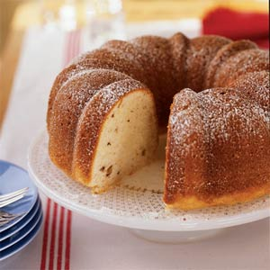 Sour cream coffee cake photo 2
