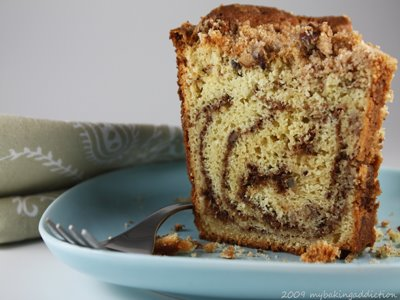 Sour cream coffee cake photo 1