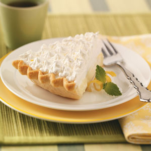 Sour cream-lemon pie photo 1