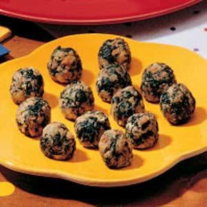 Spinach balls photo 1