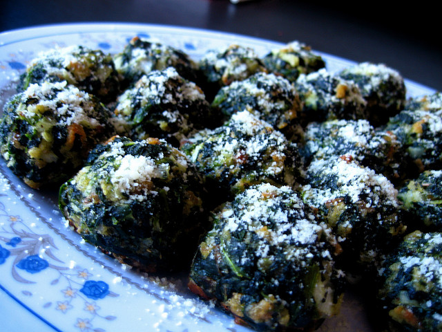 Spinach balls photo 2