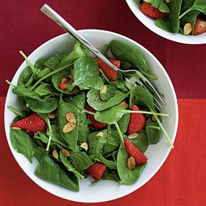 Spinach salad photo 3