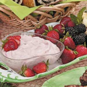 Strawberry fruit dip photo 2