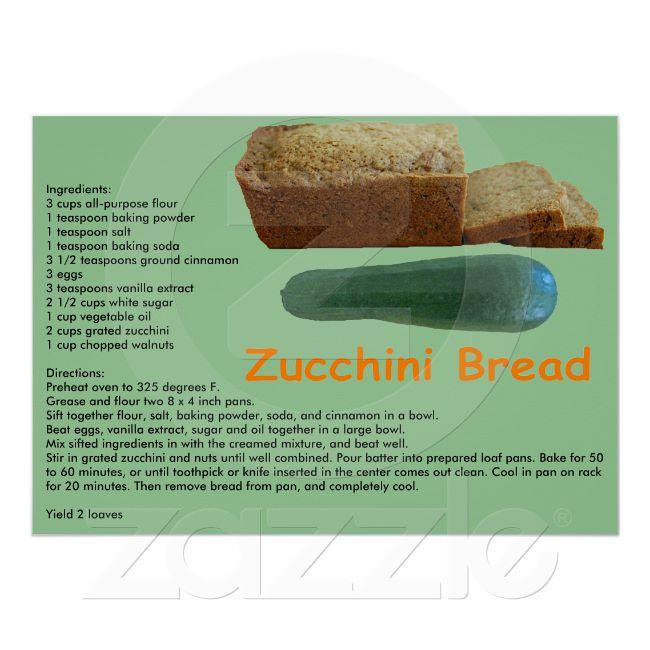 Zucchini bread photo 1