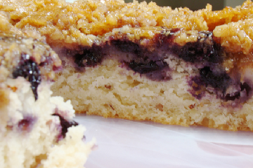 Oatmeal coffee cake photo 2