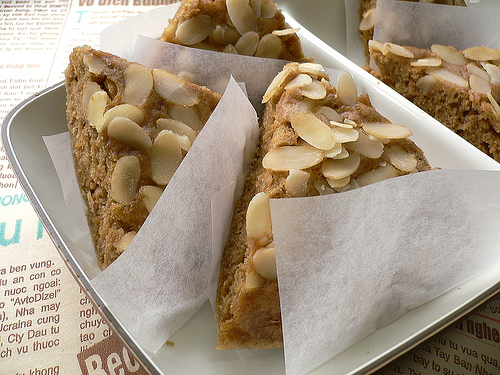 Oatmeal coffee cake photo 3