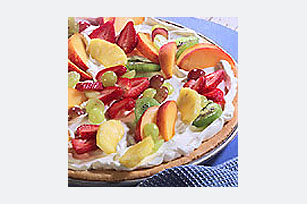 Vegetable pizza photo 1